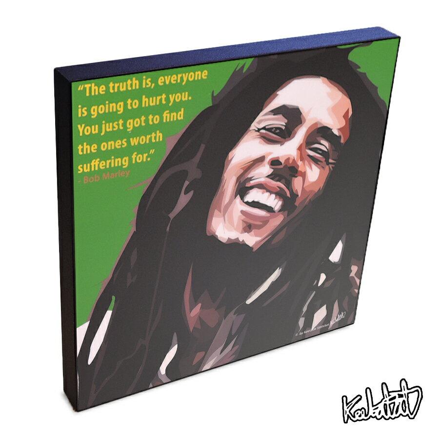 Bob Marley ボブ・マーリー2 インテリアグラフィックボード [レゲエミュージックの神様☆ ラスタファリ☆]  お洒落にお部屋を彩るウォールアートパネル【音楽ミュージック・レジェンド・スター グッズ・雑貨】