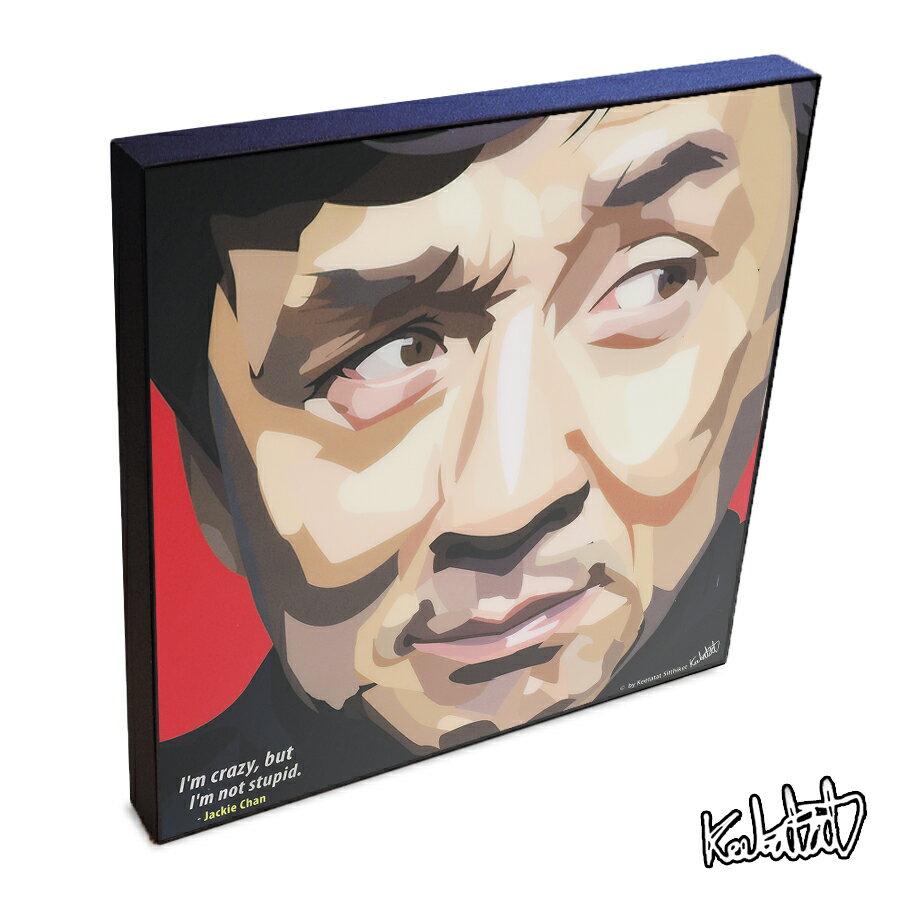 【ポイント2倍☆】Jackie Chan ジャッキー・チェン インテリアアートパネル [香港・アジアのスーパースター] お洒落にお部屋を彩るウォールアートパネル【映画・キャラクター・スター グッズ・雑貨】