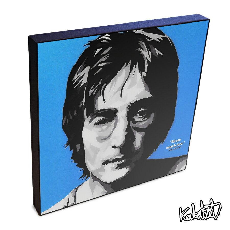 【ポイント2倍☆】John Lennon ジョン・レノン インテリアアートパネル [ビートルズ Beatles][20世紀の偉大な音楽家] お洒落にお部屋を彩るウォールアートパネル【音楽ミュージック・レジェンド・スター グッズ・雑貨】