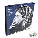 【全品ポイント3倍☆8/20 23時まで】Kurt Cobain カート・コバーン3 [Nirvana ニルヴァーナ] インテリアグラフィックボード お洒落にお...