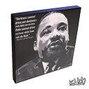 Martin Luther King, Jr. マーティン・ルーサー・キング [キング牧師] インテリアグラフィックボード [アフリカ系アメリカ人公民権運動の偉...