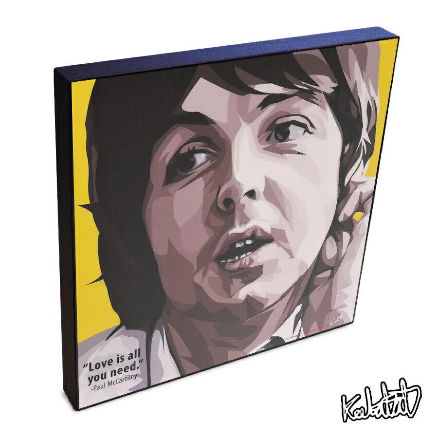 【ポイント2倍☆】Paul McCartney ポール・マッカートニー インテリアアートパネル [ビートルズ Beatles][20世紀の偉大な音楽家] お洒落にお部屋を彩るウォールアートパネル【音楽ミュージック・レジェンド・スター グッズ・雑貨】