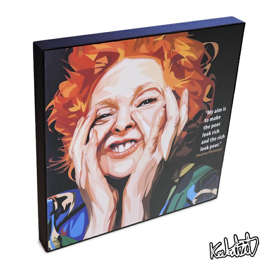 Vivienne Westwood ヴィヴィアン・ウエストウッド インテリアグラフィックボード [ファッションデザイナー]  お洒落にお部屋を彩るウォールアートパネル【偉人・