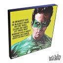 Green Lantern グリーン・ランタン (ライアン・レイノルズ) インテリアグラフィックボード [DCコミックス] お洒落にお部屋を彩るウォールアートパ...