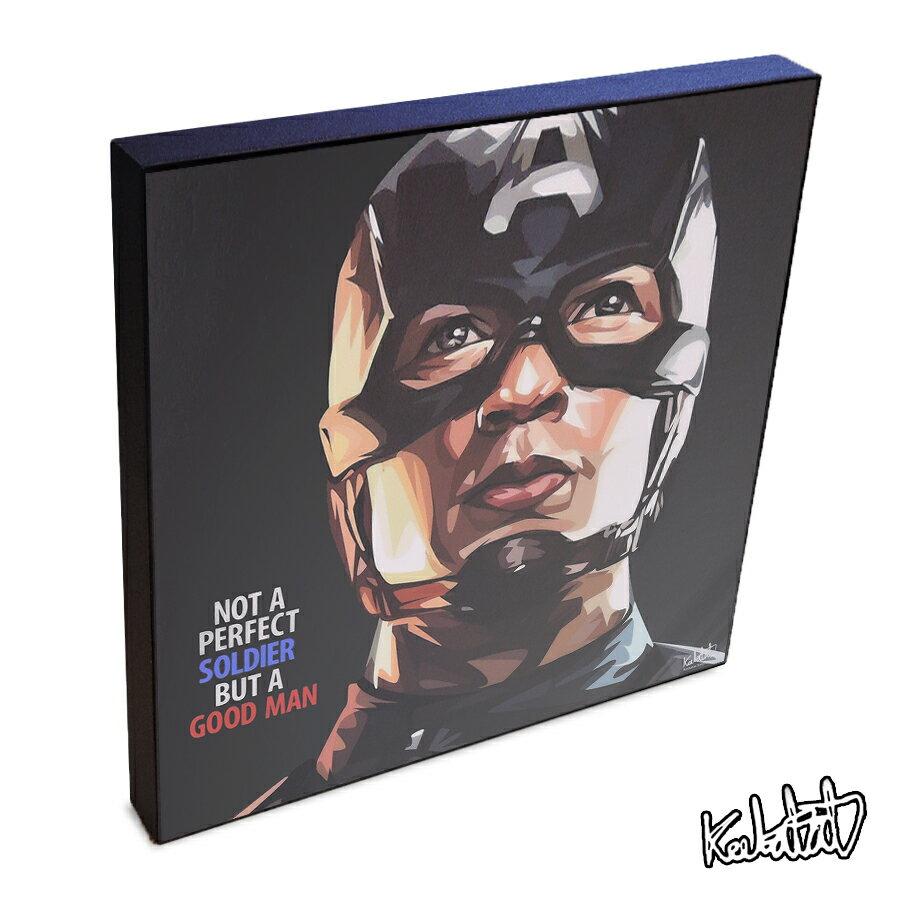 【ポイント2倍☆】Captain America キャプテン・アメリカ3 インテリアアートパネル [Marvel マーベル アベンジャーズ インフィニティ・ウォー] お洒落にお部屋を彩るウォールアートパネル【映画・キャラクター・スター グッズ・雑貨】