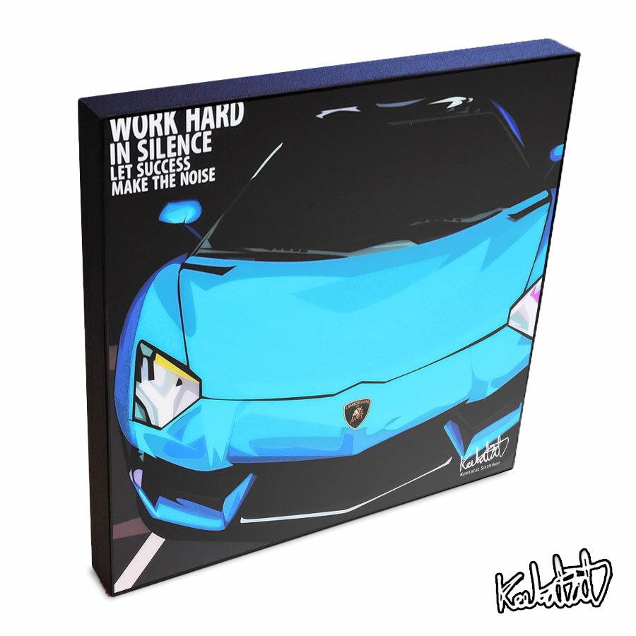【ポイント2倍☆】Lamborghini ランボルギーニ インテリアアートパネル [スポーツ&レーシングカー] お洒落にお部屋を彩るウォールアートパネル【キャラクターグッズ・雑貨】
