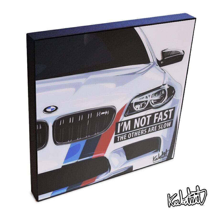 BMW BMW インテリアグラフィックボード  [スポーツ&ラグジュアリーカー] お洒落にお部屋を彩るウォールアートパネル【キャラクターグッズ・雑貨】