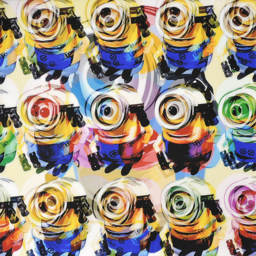 minions7 ミニオンズ7 [洋画・アニメ・怪盗グルー] お洒落にお部屋を彩るウォールアートパネル【映画・キャラクター・スター グッズ・雑貨】