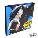 PARDON ME(french bulldog) PARDON ME フレンチ・ブルドッグ[犬の絵・動物・イラストレーション] お洒落にお部屋を彩るウォールア...