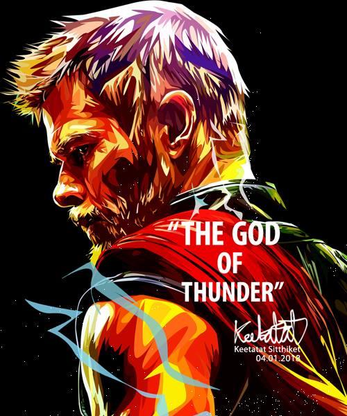 【ポイント2倍☆】Thor3 マイティ・ソー3 [アメコミ・MARVEL・マーベル・クリス・ヘムズワース] [アベンジャーズ インフィニティ・ウォー]  インテリアアートパネル