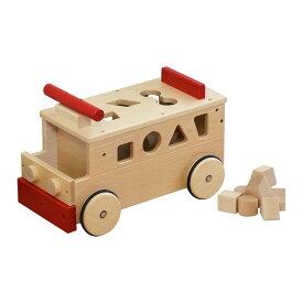 1年保証 コイデ KOIDE 日本製 おもちゃ 玩具 乗用バス M24 バス 乗り物 乗用玩具 積み木 知育 室内 1歳 2歳 男の子 女の子 子供 幼児 ベビー 知育玩具 出産祝い 誕生日 ウッド 天然木 国産 ■[送料無料]