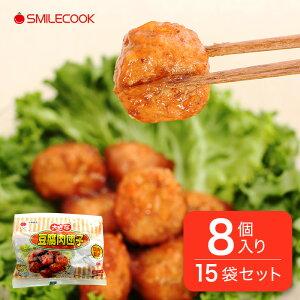 冷凍 国産 お豆腐と鶏肉が入った 豆腐肉団子 5.1kg(8個入り×15袋) 弁当 おかず 惣菜 食品 国内製造 ニッコー