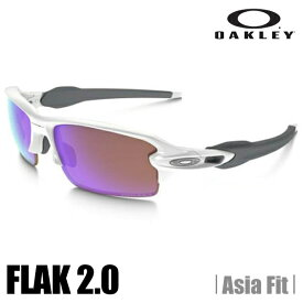 【ULTRA SALE】【正規代理店品】【保証書付】オークリー サングラス OAKLEY オークリー フラック 2.0 (アジアンフィット) (Asia Fit) Polished White★Prizm Golf OO9271-10 (A)OAKLEY FLAK 2.0【送料無料】【代引料無料】--015