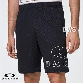 【正規代理店品】【2020年LINE UP】オークリー ショートパンツ Enhance Knit Short 10.7 Blackout(FOA401419-02E)【代引料無料】--015