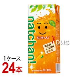 なっちゃん オレンジ 250ml紙パック 1ケース (24本)【代引料無料】-000008