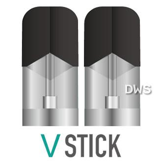 VSTICK (ヴイスティック) フレーバーカートリッジ(2個入) 【電子タバコ フレーバー】【SMV ジャパン】【日本製】【代引料無料】