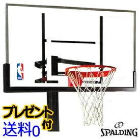 バスケットゴール スポルディング プラチナム ポータブル バスケットゴール [SPALDING]【PLATINUM PORTABLE】【ミニバス対応モデル】【メーカー直送】【送料無料】【代引不可】【同梱不可】【バスケット ゴール】【smtb-k】【ky】--135