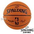【代引料無料】スポルディングオフィシャルNBAレプリカボールバスケットボール7号ラバー[SPALDING]