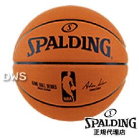 【代引料無料】スポルディング オフィシャルNBAレプリカボール バスケットボール 7号 ラバー [SPALDING]--135