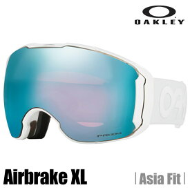【ULS】オークリー ゴーグル OAKLEY オークリー エアーブレーク XL(アジアンフィット) (Asia Fit) factory pilot whiteout★prizm snow sapphire iridium  OO7078-18  (A)OAKLEY Airbrake XL Factory Pilot Whiteout Snow Goggle【送料無料】【代引料無料