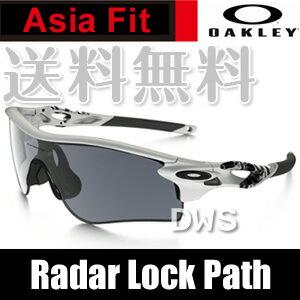 【在庫あり】オークリー サングラス OAKLEY オークリー レーダーロックパス (Asia Fit) matte white★slate iridium OO9206-02 (A)OAKLEY RadarLock Path 【送料無料】【代引料無料】