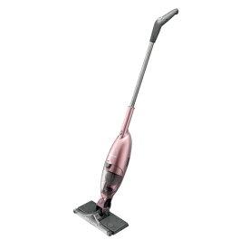SHARP(シャープ) スティック型 コードレス ダストボックス式 ワイパー掃除機 EC-FW18-P ピンク系【ECFW18P】※ワイパーシート別売り※