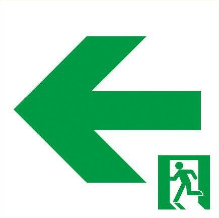 パナソニック 通路誘導灯用適合表示板 左 B級・BH形(20A形)/B級・BL形(20B形) 片面用 FK20016