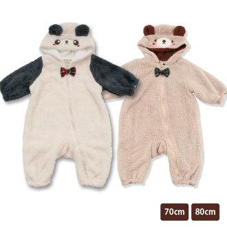 喜爱婴儿装防寒服装浅驼色象牙玩笑的婴儿男人的子女的孩子婴儿秋天冬天毛皮围巾材料分娩祝贺礼物 ※北海道、冲绳邮费补充