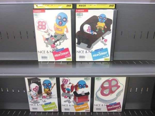 nice & neat ナイス&ニート 1〜5 (全5枚)(全巻セットDVD)/中古DVD[アニメ/特撮DVD]【中古】(AN-SH201606)