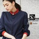 スタンド カラー チュニック シャツ ロングシャツ 体型カバー ゆったり ボリューム袖 オーバーサイズ ビッグ シルエッ…