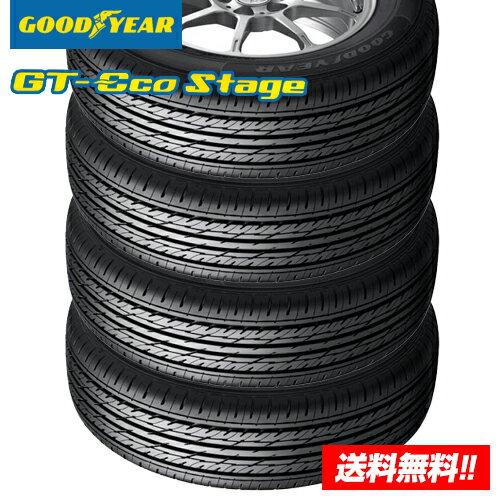【3%OFFクーポン対象】【2018年製 在庫有/正規品】グッドイヤー GT-Eco Stage ジーティー エコステージ 195/65R15 91H サマータイヤ 4本セット