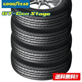 【2019年製 在庫有/正規品】グッドイヤー GT-Eco Stage ジーティー エコステージ 195/65R15 91H サマータイヤ 4本セット