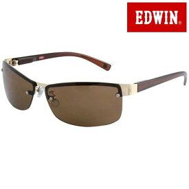 取寄品 正規品 EDWIN エドウィン エドウイン サングラス UVカット 眼鏡 ED-096-3 スクエア ユニセックス メンズ レディース