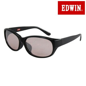 取寄品 正規品 EDWIN エドウィン エドウイン サングラス UVカット 眼鏡 ED-059-7 オーバル ユニセックス メンズ レディース