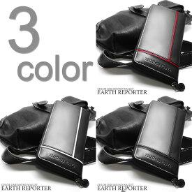 取寄品 EARTH REPORTER 本革使用 ラウンドファスナー式 アースリポーター ラウンドジップ財布 ER-103 メンズ財布