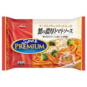 [冷凍]日清食品冷凍 日清スパ王プレミアム 蟹の濃厚トマトソース 290×14個