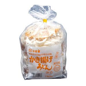 [冷凍食品]うす家 かき揚げ手延うどん 2食入り