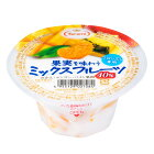 【訳あり(賞味期限2021年08月16日)】[冷凍食品]たらみ 果実を味わう ミックス 150g | フルーツ 果物 みかん マンゴー パイン ミックス 食感 溶けない アイス デザート スイーツ ゼリー たらみ 冷凍ゼリー フルーツアイス 冷凍フルーツ カップ