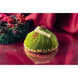 [本日全商品ポイント5倍]X'mas予約 [辻利兵衛本]宇治抹茶もんぶらんけーき 5号   ギフト クリスマス プレゼント クリスマスケーキ お歳暮 送料無料