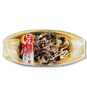 【エントリーでP10倍】[業務用冷凍食品] 旨っ! とろーりたこ焼きシール付き 40個(1コ28g)×6袋 八ちゃん堂