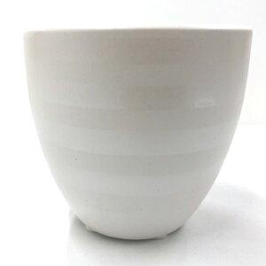 小物入れ 陶器製 大カップ ハイドロカルチャー用ミニポット 観葉植物 ガーデニング用品 通販