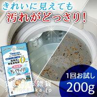 洗濯槽キレイサッパリ 200g(1回分使い切りタイプ)