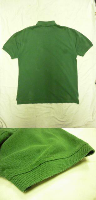 【送料無料】【あす楽】【中古】TOMMYHILFIGERトミーフィルフィガー半袖ポロシャツグリーンメンズS