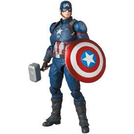 MAFEX マフェックス No.130 CAPTAIN AMERICA キャプテン アメリカ ENDGAME Ver. アクションフィギュア 【メディコム・トイ 2021年3月予約】