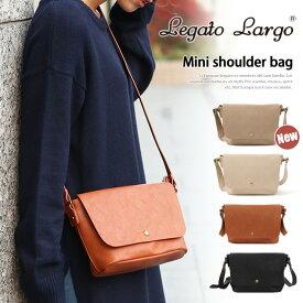 レガートラルゴ ショルダーバッグ バッグ レディース 斜めがけ 大人 ブランド 旅行 ミニショルダー Legato Largo 小さめ かわいい フェイクレザー 合皮 鞄 カバン かばん