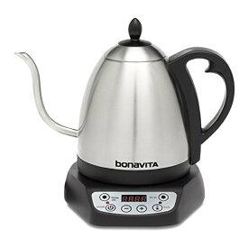 Bonavita 1-Liter Variable Temperature Digital Electric Gooseneck Kettle 電気ケトル 110V