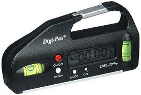 Digi-Pas デジタルレベル 水平器 ポケットタイプ 0.05° 100mm DWL80Pro