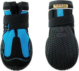 犬用靴 Mud Monsters (マッドモンスターズ) 1/XXS-XS ブルー 2個入り