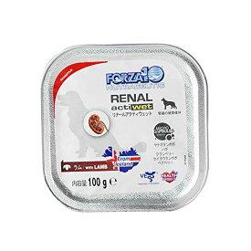 FORZA10療法食|リナールアクティウェット(腎臓ケア) 100g×12缶セット 犬用