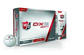 Wilson(ウイルソン) ゴルフボール DX2 SOFT GOLF BALL 1ダース(12個入り)